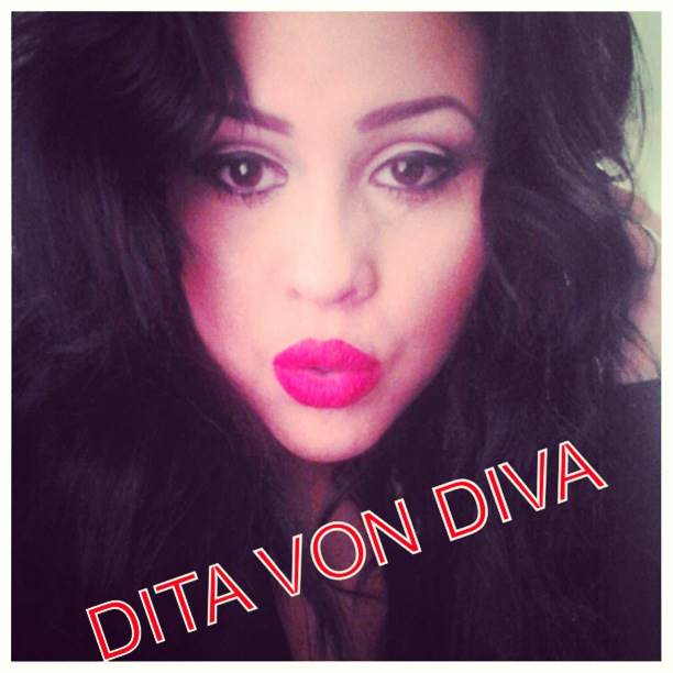 This is me, the real me. I'm a diva 24/7. No matter where I am, I want to be glamorous. I got my nick name Dita Von Diva when I was in cosmetology school because I acted like such a diva, and I always wanted to make everyone look fabulous. I love being unique and creative, that's why I love the beauty industry and fashion industries. There's so much individuality. Having your hair and makeup done transforms yourself from the outside in, and creates confidence in a person. Beauty is power!